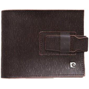 Pierre Cardin กระเป๋าสตางค์ รุ่น PWJ4-XD02- สีน้ำตาล