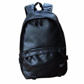 Peimm Modello Notebook Backpack.MIB กระเป๋าเป้สะพายหลัง กระเป๋าเป้ใส่โน้ตบุุ๊ค กันน้ำ สไตส์เกาหลี (สีดำ)