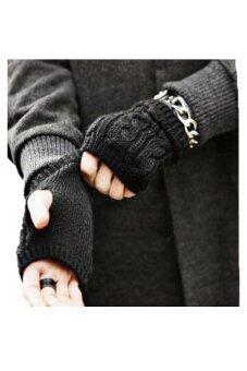 Afterthat ถุงมือไหมพรม รุ่น GR20 (สีดำ)