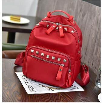 Khaewara กระเป๋าเป้สะพายหลัง สไตล์เกาหลี รุ่น KPB02(สีแดง)