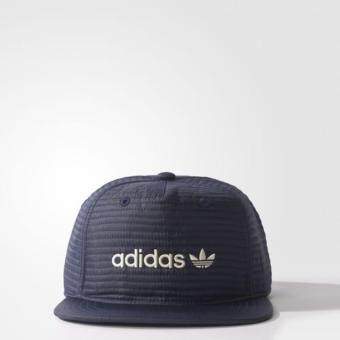 Adidas สุดฮิต หมวก Adidas Originals Snapback รุ่นปรับสายได้ (Navy)