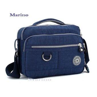 Marino กระเป๋า กระเป๋าสะพาย กระเป๋าสะพายผู้หญิง No.1857 - D.Blue