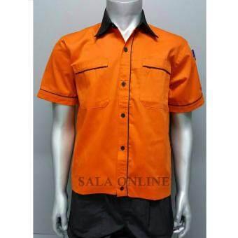 เสื้อช่าง เสื้อทำงาน เสื้อช็อบ Size M รอบอก 42 นิ้ว