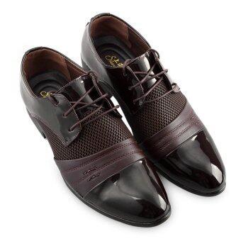 รองเท้าหนังบุรุษออกซฟอร์ดธุรกิจ (สีน้ำตาล)