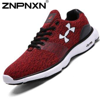 Harga ZNPNXN Men's Fashion Sneakers Shoes Sports Shoes Walking Shoes Runnig Shoes (Red)