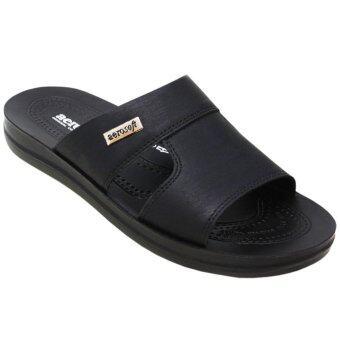 Aerosoft รองเท้าแตะผู้ชาย A4146 สีดำ