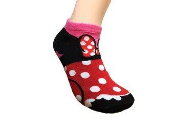 Krissy ถุงเท้าแฟชั่่น ข้อตาตุ่ม ลายมิกกี้เมาส์ 1 คู่