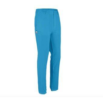EXCEED MEN GOLF PANTS ( BLUE ) กางเกงกอล์ฟสำหรับสุภาพบุรุษ สีฟ้า KUZ017