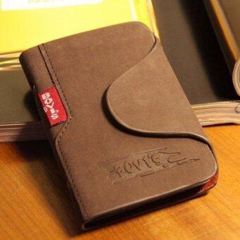 Matteo กระเป๋าใส่บัตรเครดิต กระเป๋าหนังแท้ BOVI 0647