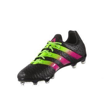 Adidas รองเท้าฟุตบอล ACE 16.2 FG รุ่นรองท็อป AF5268 (Black)
