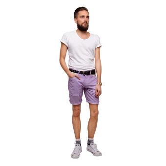 PHIL กางเกงขาสั้น รุ่น PP13SH001MPP - สีม่วง