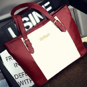 Open กระเป๋าแฟชั่นเกาหลี (สีแดง) รุ่น216