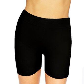 Marytex กางเกงขาสั้นเก็บกระชับหน้าท้องยกสะโพก (สีดำ)