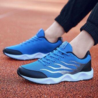 ชายรองเท้ากีฬากลางแจ้งรองเท้าวิ่งรองเท้าใส่สบาย ๆ ระบายอากาศได้ Men's Outdoor Sports Shoes Running Shoes