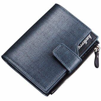 Matteo กระเป๋าเงิน กระเป๋าสตางค์ ผู้ชาย 3 ชั้น Baellerry (สีน้ำเงิน)