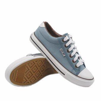 Alisa Shoes รองเท้าผ้าใบผู้หญิง รุ่น B 999 Blue