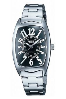 Casio Standard นาฬิกาข้อมือผู้หญิง รุ่น LTP-1208D-1A - Silver/Black
