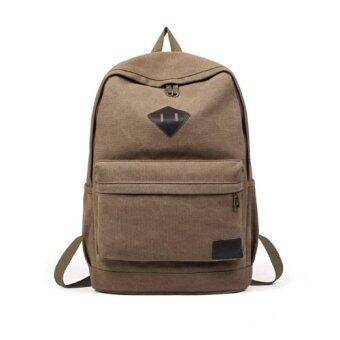 ASPIRE กระเป๋าเดินทาง กระเป๋าเป้สะพายหลังเท่ห์ๆ (สีน้ำตาล)