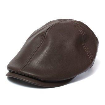ชายหนุ่มสวมหมวกแก๊ปหนังหมวกไอวี่แบนตลอดไปสวมหมวกโชเฟอร์ Gatsby หมวกกอล์ฟ