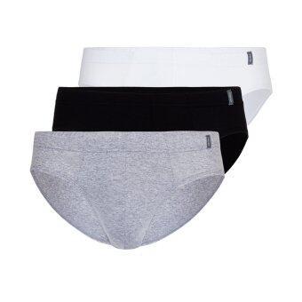 F&F กางเกงในชาย บิกินี่ขอบหุ้มยาง คละสี แพ็ค 3 ตัว