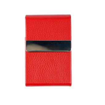 Marino กระเป๋านามบัตร กล่องแม่เหล็กใส่นามบัตร รุ่น H003 - Red