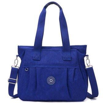 RICHCOCO กระเป๋าสะพาย เนื้อผ้าไนลอนกันน้ำ Waterproof Nylon Handbag (Dark Blue)