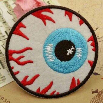 กาวรีดรูป Blooding พังก์ร็อกบนลูกตาลวดลายปักลายซ่อมนู่นซ่อม S5cm-ระหว่างประเทศ