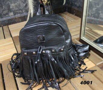 Platinum Fashion กระเป๋าสะพายหลังแฟชั่น ผ้าหนาดี ทน รุ่น4001