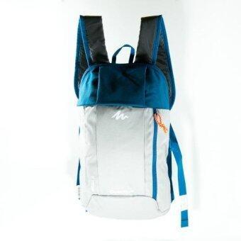 Mansomeguys กระเป๋าเป้จักรยาน เป้กันน้ำ สำหรับปั่นจักรยาน รุ่น Waterproof Bag Arpenaz สีGrey /Navy เทา น้ำเงิน