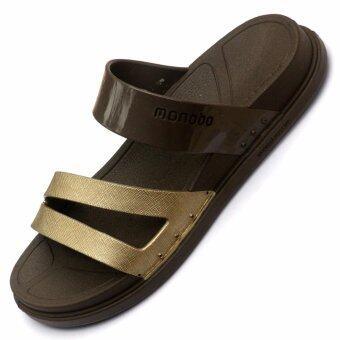 MONOBO Kelly6 รองเท้าโมโนโบ้ (สีช็อคโกแลต)