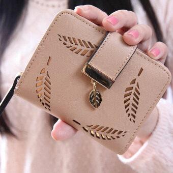 ลาวีย่อหน้าสั้น ๆ ขุดทองกระเป๋าสตางค์ใบเล็กขนาดความจุเงิน (แอปริคอท)