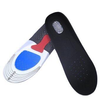 เพศกายอุปกรณ์เสริม Insoles เจลใส่แผ่นรองรองเท้ากีฬาวิ่งโค้งรองรับคนรอง
