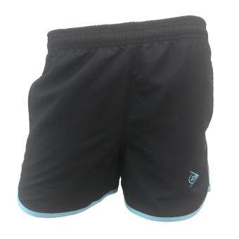 DUNLOP กางเกงเทนนิส DUNLOP LADIES SHORTS BLACK/BLUE DAP16SW02A L
