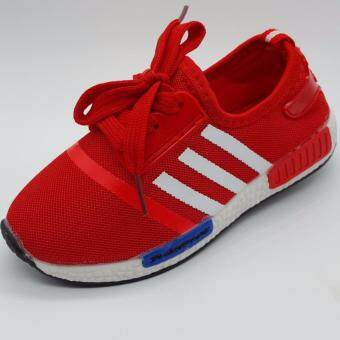 Alice Shoe รองเท้าผ้าใบ แฟชั่นเด็กผู้ชาย และ ผู้หญิง รุ่น SKL081-R (สีแดง)