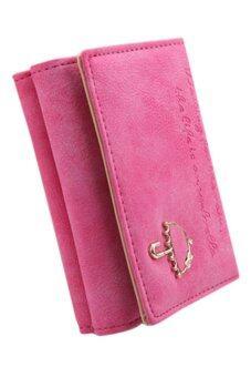 Sanwood กระเป๋าสตางค์หนังเทียม (กุหลาบแดง)