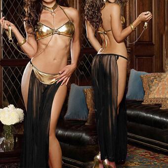 ชุดชั้นในเซ็กซี่ชุดชั้นในหญิงชุดนอนลูกไม้เซ็ตให้ใครแต่งตัว+จีสตริงสีดำ