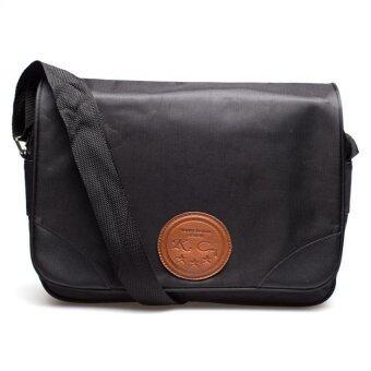 DM กระเป๋าสะพายข้าง C4 Adrano -- สีดำ