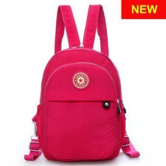 RICHCOCO กระเป๋าเป้สะพายหลัง Nylon leisure Backpack (K01-new Pink)