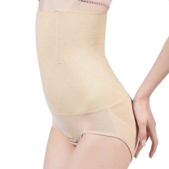 Perfect Shape กางเกงในเก็บพุง เอวสูง (เป้าตะขอ) (สีเนื้อ)
