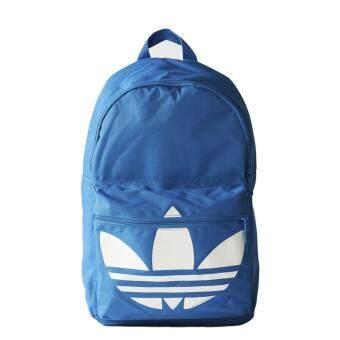 adidas กระเป๋าเป้ Classic Trefoil Backpack AJ8528 (Blue)