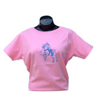 Poloace เสื้อยืดคอกลม T Shirt PTBF0800150 Pink