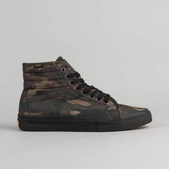 Vans รองเท้าผ้าใบ AV CLASSIC HIGH (CAMO) BLACK