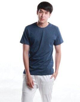 SimpleArea Premium cotton T-shirts เสื้อยืดคอกลม - Jean Top Dye