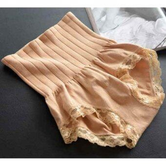 Munafie กางเกงสเตย์ญี่ปุ่นเก็บพุง ลดพุง กระชับสัดส่วน (สีเนื้อ)