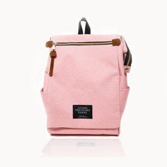 Marverlous กระเป๋า กระเป๋าเป้ Japan style Backpack NO.1123-สีชมพู
