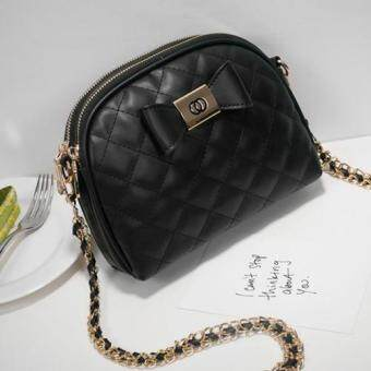 Axixi กระเป๋าแฟชั่น รุ่น 12212 (Black)