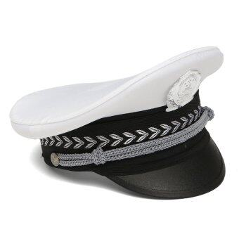 Harga Kids Children Police Policeman Officer Cap Hat Fancy Dress Costume Accessory White New - intl