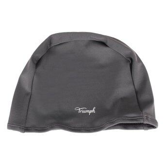Triumph หมวกว่ายน้ำ สีเทา