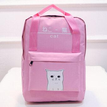 FTshop กระเป๋าเป้สะพายหลัง+กระเป๋าสะพายหลัง+กระเป๋าแฟชั่น+กระเป๋าเดินทาง+กระเป๋าใบใหญ่-รุ่น 111cสีชมพู