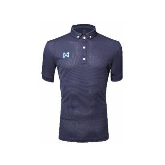 WARRIX SPORT เสื้อโปโลWA-3315-EE(สีกรมท่า)